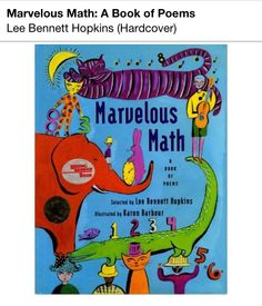 Marvelous math book of poems