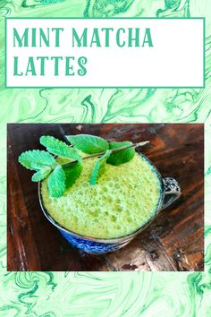 My Recipes, Gluten Free Recipes, Matcha Green Tea, Latte, Mint, Vegan, Breakfast, Food, Morning Coffee