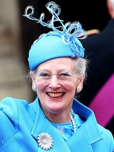 H.M Queen Margrethe II of Denmark on the occasion of her 74th birthday on 16th April 2014.
