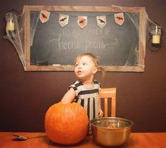 #pumpkincarving #hocuspocus #chalkboardart #chalkboard #halloween #halloweendecor