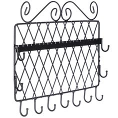 Cream jewelry holder with knobs decor pinterest for Hobby lobby jewelry holder
