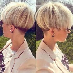 45 Trendy Short Hair Cuts for Women 2019 - PoPular Short Hairstyle Ideas # Trendy cortes de cabelo curto para as mulheres Source by jasonsmor Popular Short Hairstyles, Popular Haircuts, Cool Hairstyles, Hairstyle Ideas, Short Wedge Hairstyles, Short Haircuts, Short Wedge Haircut, Bowl Haircuts, Layered Hairstyles