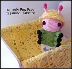 AU$4.00 AUD Ravelry: Snuggle Bug Baby pattern by Janine Tsakisiris