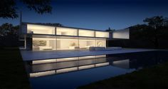 Aluminum House by Fran Silvestre #Architects