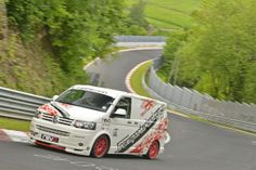 Revo Volkswagen T5 sets Nürburgring van lap record | www.truefleet.co.uk
