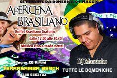 Nuovo appuntamento con l'Apericena Brasiliano del #Terrasamba #Rimini