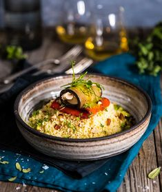 Halloumi, Couscous, Hummus, Quinoa, Dinner, Cooking, Ethnic Recipes, Food, Tips