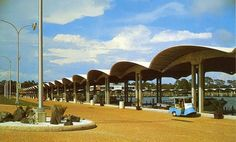 Broadwater Marina on the Mississippi Gulf Coast in Biloxi  (Blast from the Past)