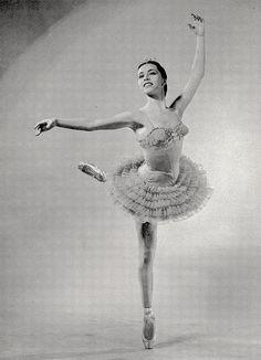 Maria Tallchief    The first American Indian Prima Ballerina (my ballet teacher)