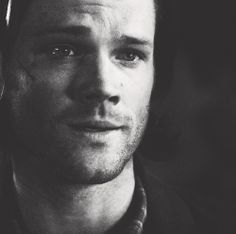 Sammy #Supernatural #B&W