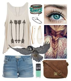 Untitled#23 by alys0nkn0ttx on Polyvore featuring polyvore, fashion, style, Pieces, Volcom, Nica, Maybelline, Freebird and clothing