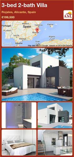 3-bed 2-bath Villa in Rojales, Alicante, Spain ►€199,500 #PropertyForSaleInSpain
