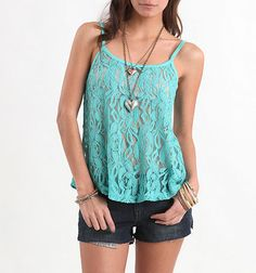 pac sun ~ Tell me you don't adore that top.