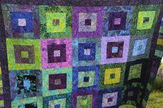 Photo: Denim Ideas, Album, Quilts, Blanket, Quilt Sets, Blankets, Log Cabin Quilts, Cover, Comforters