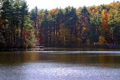 Mirror Lake in Fitchburg, MA