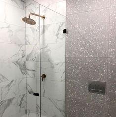 Ocean & Merchant's Padovan Terrazzo Nazca 600x600mm Terrazzo, Door Handles, Ocean, Stone, Bathroom, Home Decor, Door Knobs, Washroom, Rock