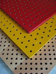 Wooden Perforated Acoustic Wall Panels - Foshan Yingzhe Building Material Co. Diy Necklace Stand, Acoustic Wall Panels, Room Acoustics, Material Board, Wall Finishes, Sound Proofing, Building Materials, Plywood Walls, Office Entrance