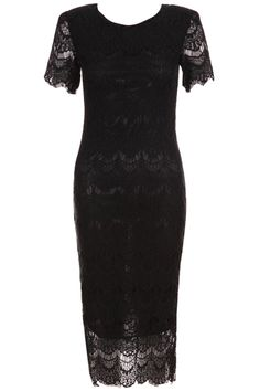 Padded Shoulder Black Lace Dress. Black lace dress, featuring scoop neck, short sleeves, padded shoulder, hollow design throughout, lined, bodycon styling. This dress design by lace fabric, it creates romantic atmosphere, padded shoulder design adds strong feeling, if you wear it, it will make you both beautiful lovers and strongman at work, and which can interpretation of your beautiful body perfectly. Fabric Polyester. #Romwe