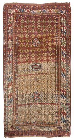 Antique Kurdish Rug #44029  http://nazmiyalantiquerugs.com/antique-rugs/kurdish/