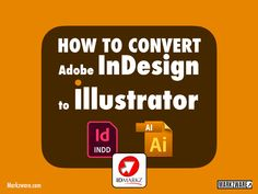 Adobe InDesign to Illustrator with IDMarkz [Tutorial Duration 01:29] With a click, convert .indd InDesign documents to native .ai Illustrator files, via Markzware's IDMarkz macOS app: Indesign Layouts, Adobe Indesign, Desktop Publishing, Creative Suite, Ai Illustrator, Graphic Designers, Middle, Printing, App