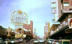 Mainstreet in Las Vegas, 1959