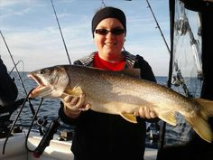Fishing is big time here on Lake Erie and it's tributaries.  This one was caught on the lake.  We are located between two popular fishing streams, 16 & 20 Mile Creeks - just 1 and 3 miles away.   And just 2 miles from the North East Marina if you want to bring your own boat.  I can recommend charters as well.