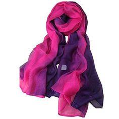 Cashmere Silk Scarf - 10000 WISHES SILK SCARF by VIDA VIDA FE2Ul