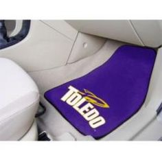 "Toledo Rockets 27""x18"" Auto Floor Mat (Set of 2 Car Mats)"