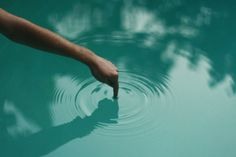 ripples #pool #water #reflection