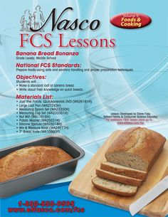 Nasco | Lesson Plan 9, Foods and Cooking | FCS Online Catalog