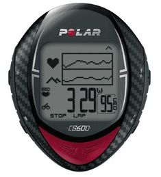 Polar Cycling Computer Heart Rate Monitor CS600