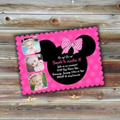 0568 LUXE Birthday Invitation Photoshop PSD By Rememberwhendesign Invitations Mickey Mouse Photographers