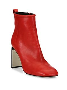 Rag & Bone - Ellis Lamb Leather Ankle Boots