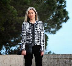 Style Statement : LOOK DO DIA: PLAID JACKET  #tartan #trends #chic #fashionblog #blogdemoda #ootd #lookdodia