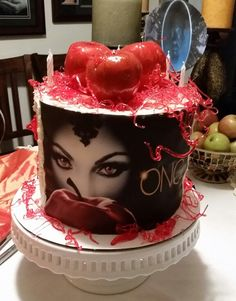 """Made a """"Once Upon a Time"""" birthday cake for my lil Peanut"""
