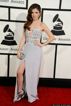 Beauty By Benz: Get the look: Anna Kendrick at the 2014 Grammy's