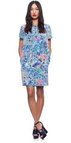 Whistles Flower Print Dress