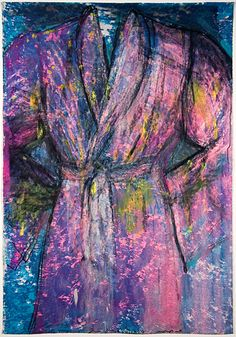 Jim Dine | Untitled (Robe 7) 2006