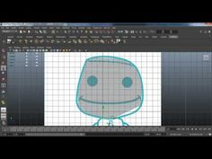 Autodesk Maya: Sackboy Modeling Tutorial [part 1]