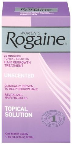 Rogaine for Women Hair Regrowth Treatment, 2 Ounce by Rogaine. $15.00. #1 dermatologist-recommended brand for hair regrowth is available without a prescription. Only FDA-approved topical solution to regrow your hair. Helps reverse the progression of hereditary hair loss. Only brand proven safe and effective for women. Easy to use. Amazon.com                What's your secret to thick, healthy-looking hair? ROGAINE. Women's ROGAINE Hair Regrowth Treatment is easy...