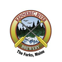 Kennebec River Brewery logo, at Northern Outdoors