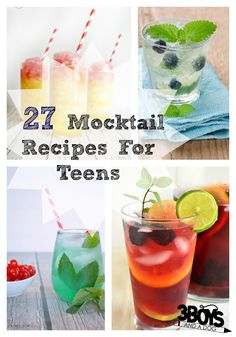 Mocktail Recipes for Teenagers