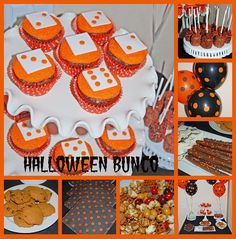 Halloween Bunco Dessert Buffet Collage by Simply Sweets, via Flickr