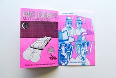 Wobby is a Dutch Risograph printed, independent magazine, comic by Jeroen de Leijer