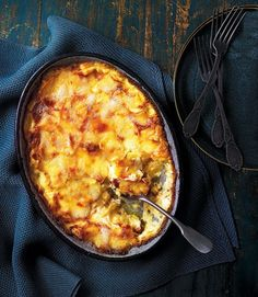 tartiflette - cheese and potato dish with bacon