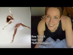 How To Tack Your Rehearsal Tutu - with Ballerina Badass - YouTube