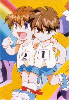 Gundam Wing Chibi Heero Duo