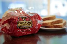 Canyon Bakehouse 7 Grain Bread  They really have the whole GF bread thing down. So thankful! So good!