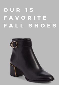 low priced d79cb 17532 15 Fall Shoes To Buy Now
