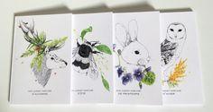 Carnet parfumé des saisons by Parfumprojet on Etsy